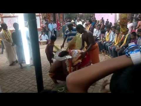 Bhoota Kola  Bedikara Mane, Kunjathbail By 13 Years Old Boy - Part 2 video