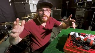 10 Things EVERY Drummer Should Bring On Tour - Drum Vlog - Sickdrummer Magazine - Cameron Fleury