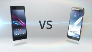 Xperia Z Ultra Vs. Galaxy Note 2
