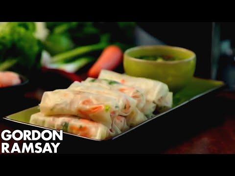 Fresh Prawn Rolls - Gordon Ramsay