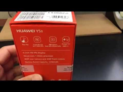 HUAWEI Y5II CUN-L21 DUAL SIM Unboxing Video – In Stock At Www.welectronics.com