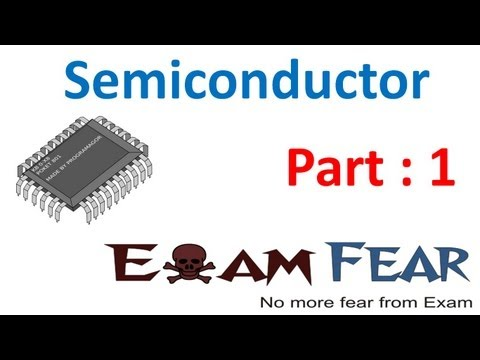 Physics Semiconductors part 1 (Introduction) CBSE class 12 XII
