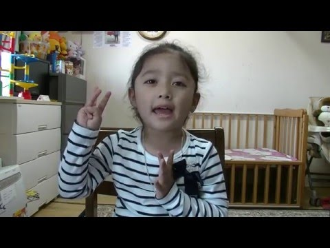 My Daughter Singing  Nepali Children song Meow miyau Biralu (Just Trying Time)