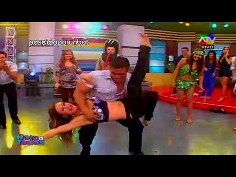 HOLA A TODOS: Christian Dominguez Manosea a Bailarina 21/05/13