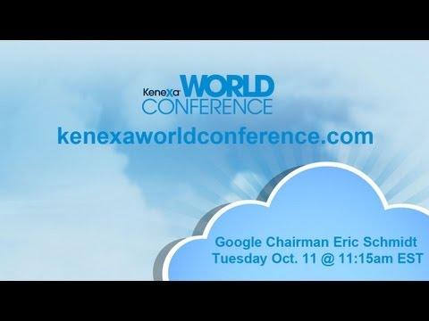 Eric Schmidt at Kenexa World Conference 2011
