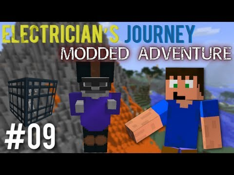 Minecraft: Electricians Journey Mod Pack Ep. 9 - Massive Volcano