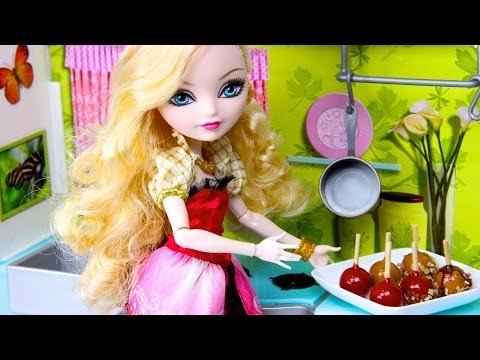 How to Make Doll Candy Apples