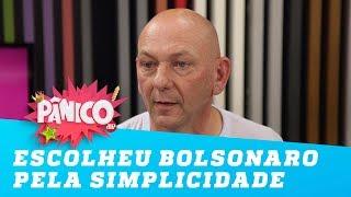 Luciano Hang diz que escolheu Bolsonaro 'pela simplicidade, honestidade, e humildade'