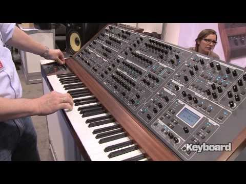 Schmidt Synthesizer at NAMM 2014