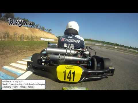 CiK-FiA Academy Trophy - Onboard Filippos Kalesis