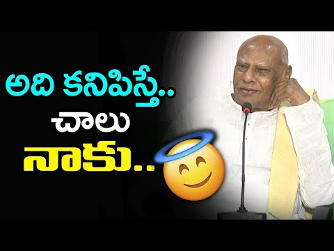 Rosaiah Press Meet AP Andhra Ratna Bhavan-Vijayawada | Rosaiah Talk About Winning Scope For Congress