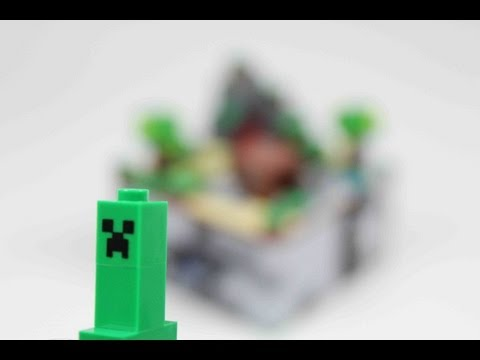 LEGO Minecraft Micro World Review 21102