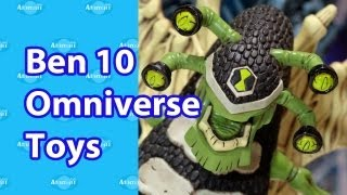 Ben 10 Omniverse Toys Nuremberg Toy Fair 2013 Preview
