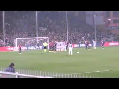 Genoa vs Juventus 0-1 16/03/2013 la perla di Pirlo