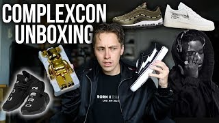 COMPLEXCON UNBOXING! DID I GET WHAT I WANTED? feat. Ian Connor's Revenge Storms