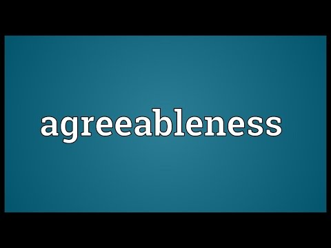 Header of Agreeableness