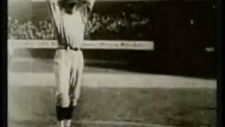 Walter Johnson Pitching Footage (No Sound)