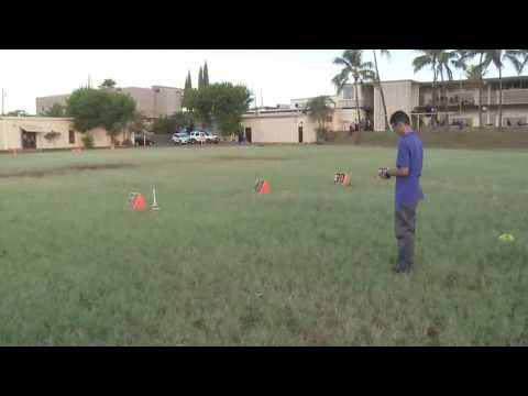 Damien Memorial School - Launches rocket