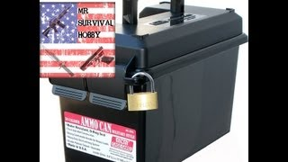 Best Plastic 50 Cal Ammo Can by MTM (BLACK)