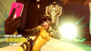 D.Va Play of the Game Quad Kill - Overwatch