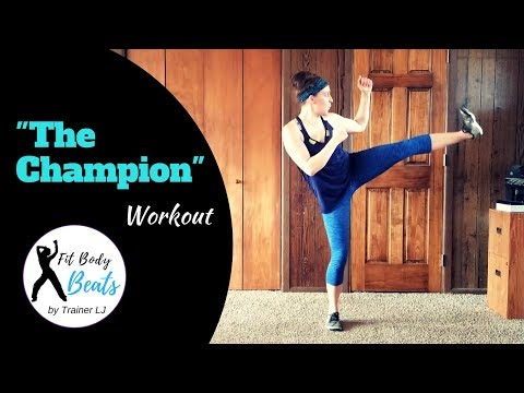 Cover Lagu The Champion - Carrie Underwood ft. Ludacris | HIIT Dance Fitness Zumba Workout | Super Bowl Song