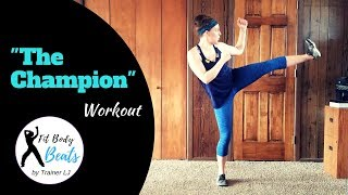 The Champion - Carrie Underwood Ft. Ludacris | HIIT Dance Fitness Zumba Workout | Super Bowl Song
