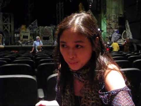 Ma-Anne Dionisio in Cats Musical in Toronto