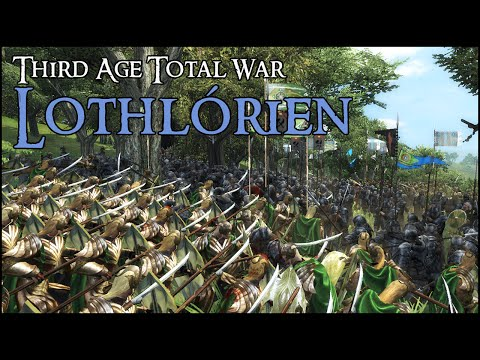 SIEGE OF LOTHLORIEN - Third Age Total War Gameplay