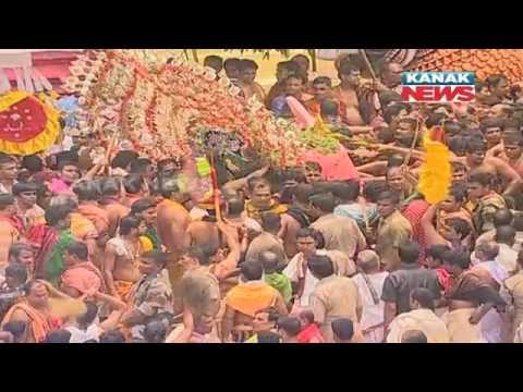 Rath Yatra 2016: Pahandi of Lord Jagannath