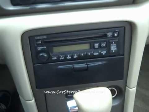Mazda 626 Car Radio Removal And Repair Youtube