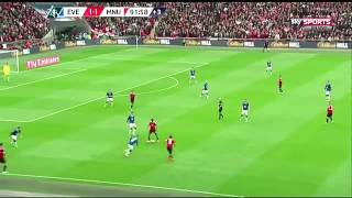 Anthony Martial FA Cup Everton - Man UTD Goal