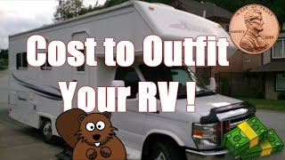 Genitalia & your true cost of outfitting full time in an RV...LOL