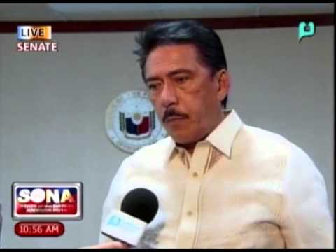 [SONA 2014 PTV Live Coverage] Interview with Sen. Tito Sotto III [07|28|14]