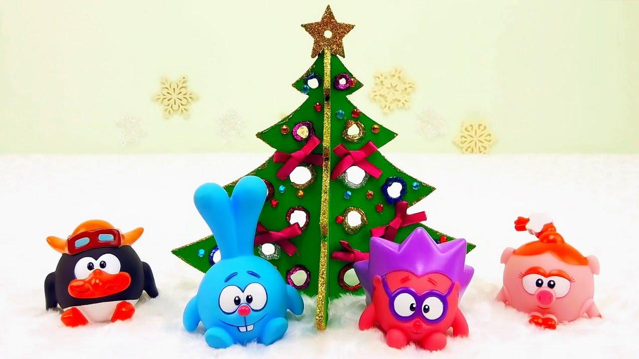 Игрушки смешарики новый год
