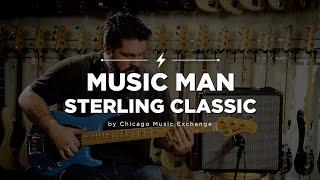 Quick Riffs: Music Man Sterling Classic Diego Blue Bass Guitar