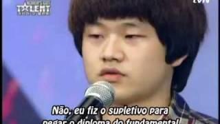 [Korea's Got Talent] Sung bong Choi   Legendado