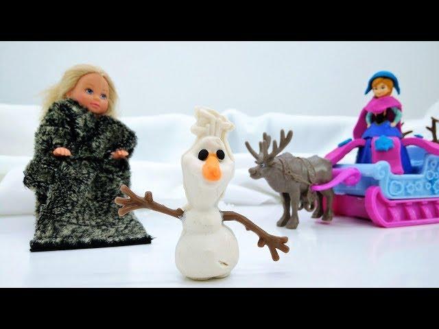 Мультфильм Холодное сердце - Анна ищет Олафа