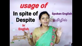 In Spite Of , Despite - Usage In English / Spoken English Through Tamil