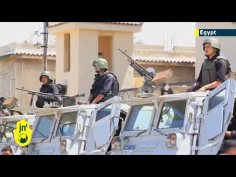 Sinai Islamist Insurgency: 24 Egyptian policemen executed in suspected jihadi ambush attack
