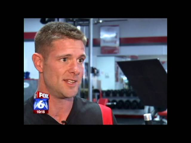 Noah Galloway - Fox 6 News - Workout Warrior