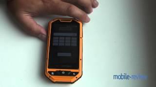 SenseIt P4 - защищенный смартфон на Android