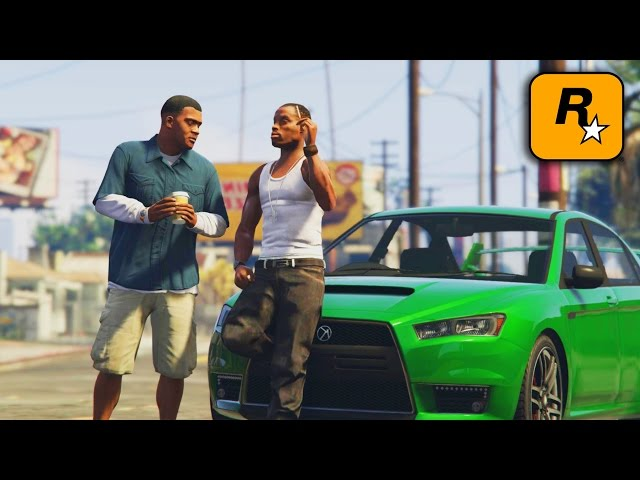 GTA IV - CJ meets Franklin