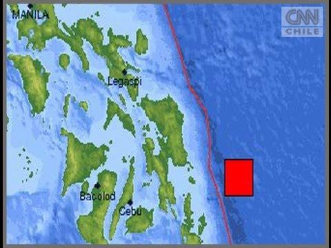 Terremoto de 7,9 grados richter sacudió las costas de Filipinas