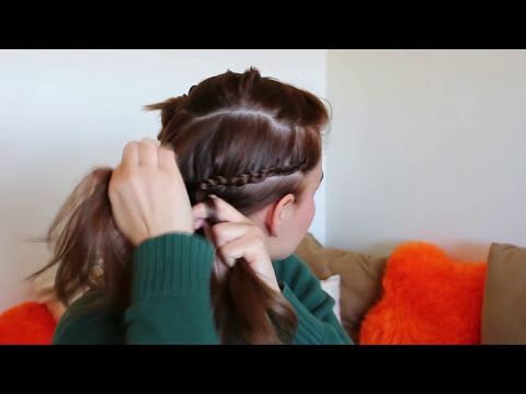 Hair | Peinados fáciles de lado para fiesta / nochevieja / ocasión especial
