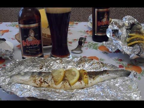Как приготовить сибас в духовке - видео