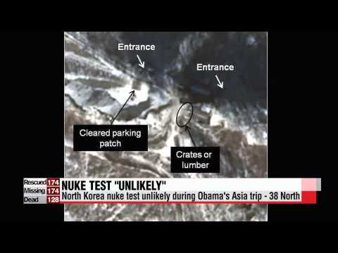 North Korea nuke test unlikely during President Obama's visit to Asia   38 North