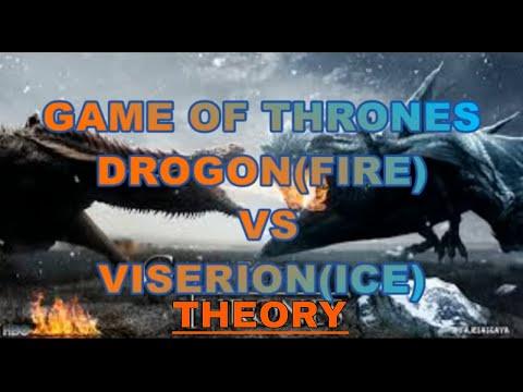 Game Of Thrones Season 8 Drogon Vs Viserion Theory Season