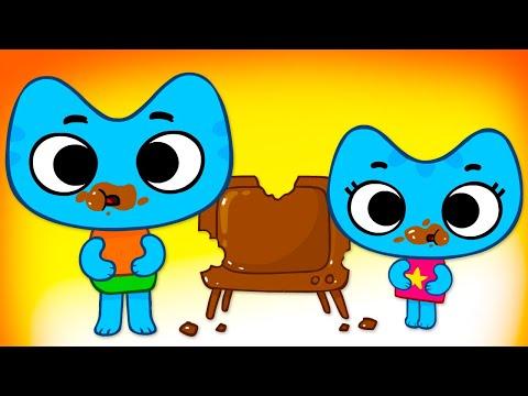 Котики, вперед! - Сладкий домик (24 серия) - мультики для детей