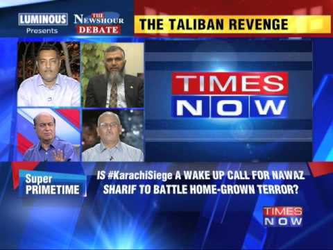The Newshour Debate: Pakistan stung by Taliban - Part 3 (9th June 2014)
