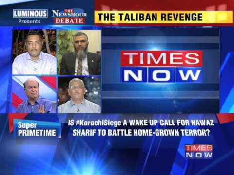 The Newshour Debate: Pakistan stung by Taliban - Part 3 (9th June 2014)